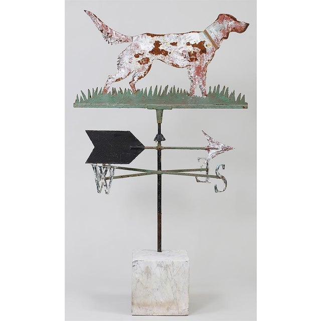 1930s Setter Weathervane For Sale - Image 5 of 5