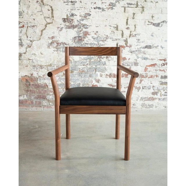 Not Yet Made - Made To Order Feast Armchair in Walnut For Sale - Image 5 of 5