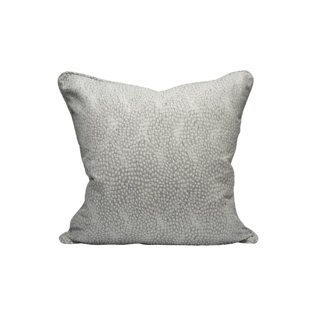 Traditional Flurry Pillow, Snow For Sale - Image 3 of 3