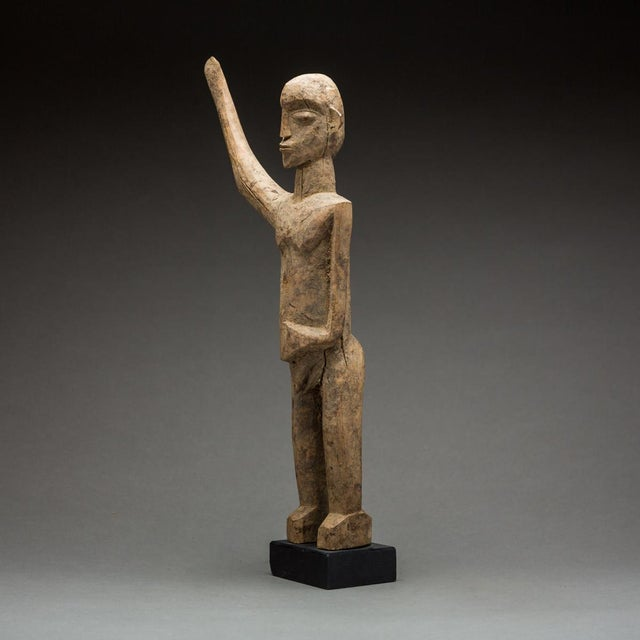 Please update measurements. This striking piece is an example of a bateba thil figure from the lobi group. The current...