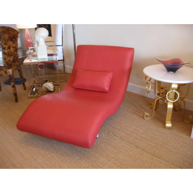 Mid Century Modern Chaise Longue For Sale - Image 9 of 10