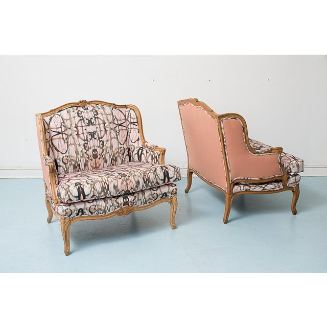 French Provincial Style Arabella Chairs - Pair - Image 2 of 7