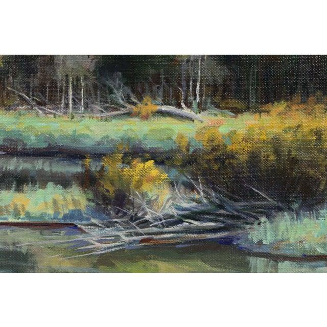 2000s Oil on Panel Landscape by Jerry Antolik For Sale - Image 5 of 9
