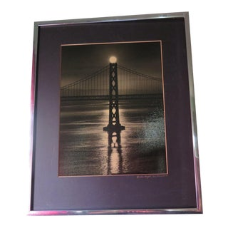 San Francisco Original Golden Gate Bridge Photo by Gene Wright For Sale