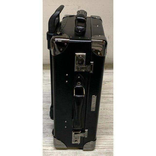 Metal Asprey Londoner Trolley Luggage For Sale - Image 7 of 12