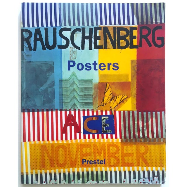 """ Rauschenberg Posters "" Rare First Edition Collector's Lithograph Print Modern Art Book For Sale - Image 13 of 13"