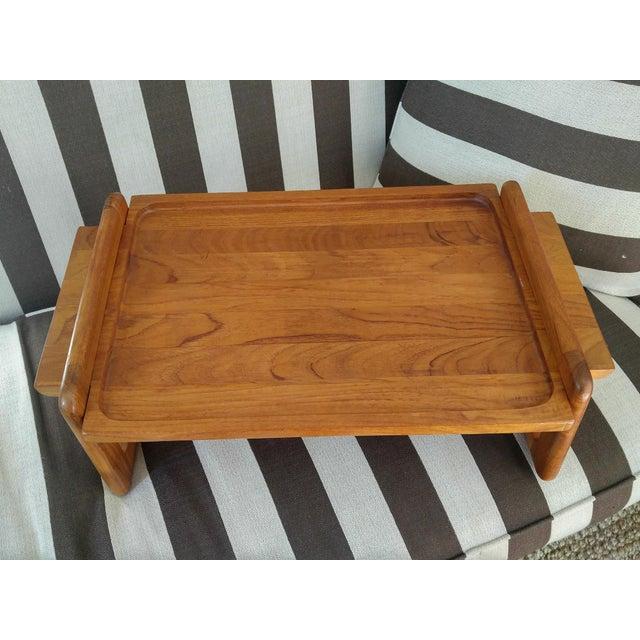 Dansk Teak Breakfast Tray - Image 4 of 4