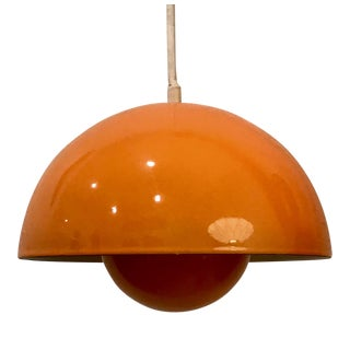 1960s Verner Panton Vp1 Flowerpot Pendant Light for Louis Poulsen, Denmark