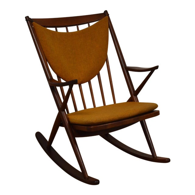 Bramin Danish Rocking Chair For Sale