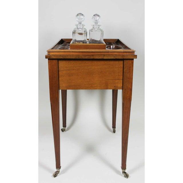 Mahogany Aspreys London Mahogany Drinks Table For Sale - Image 7 of 10