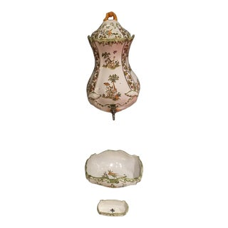 Martres Tolosane Wall Fountain - Set of 3 For Sale