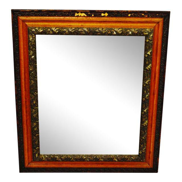 Decorative Wood Gesso Mirror - Image 11 of 11