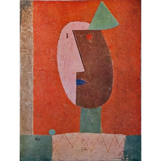 """1958 """"Clown"""" Lithograph by Paul Klee For Sale"""