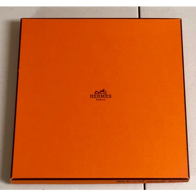 1980s Hermès Homage a Charles Garnier Silk Scarf For Sale - Image 5 of 7