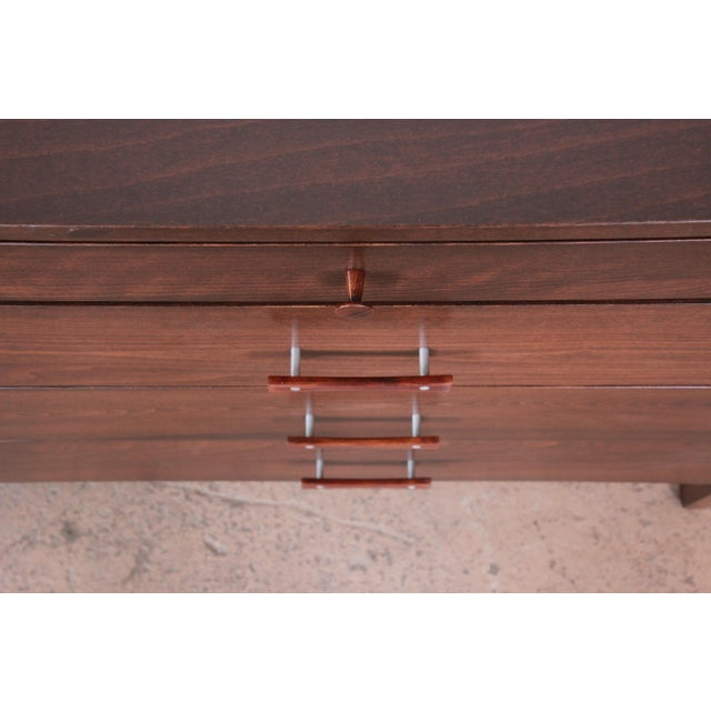 Paul McCobb Perimeter Group Birch Credenza, Newly Restored For Sale - Image 11 of 13