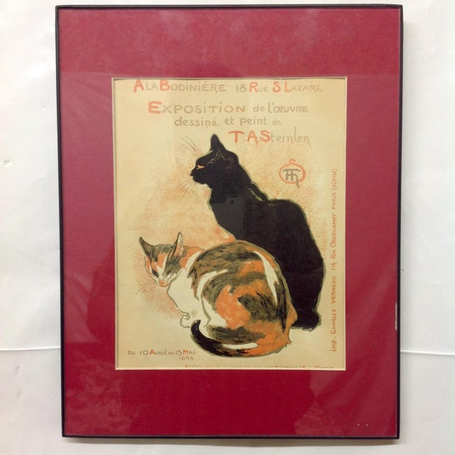 T. A. Steinlen French Exposition Poster - Image 2 of 3