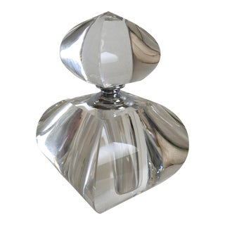 Modern Moroccon Inspired Crystal Glass Perfume Bottle