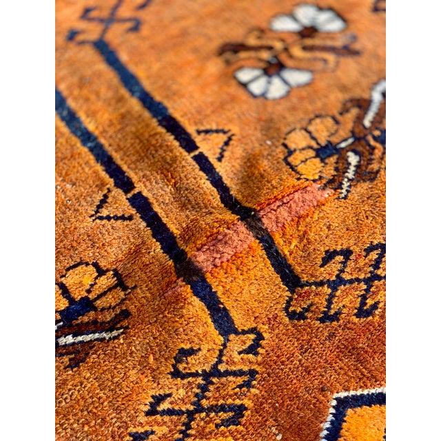 Textile 1930s Vintage Kurdish Rug - 4′2″ × 6′10″ For Sale - Image 7 of 13