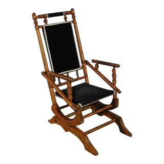 Antique Eastlake Glider Rocker For Sale