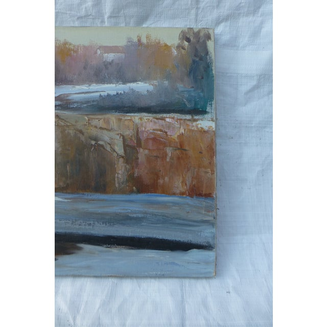 Abstract Waterfall Painting by H.L. Musgrave - Image 5 of 7
