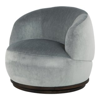 Orbit Occasional Chair In Limestone For Sale