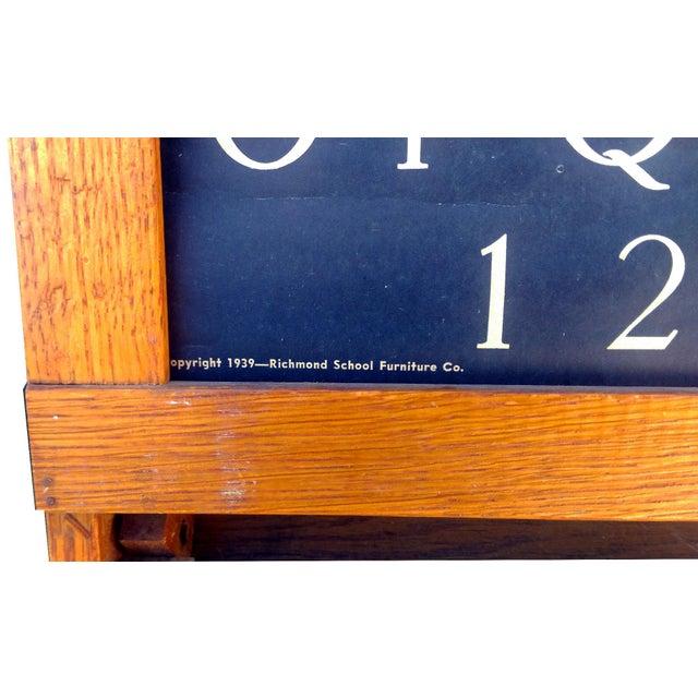 1930s Lithoplate Chalkboard & Art Desk - Image 8 of 10