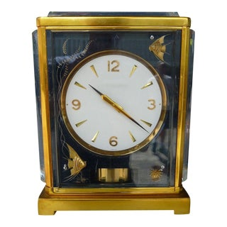 Mid-Century Modern Marina Jaeger Le Coultre Clock For Sale