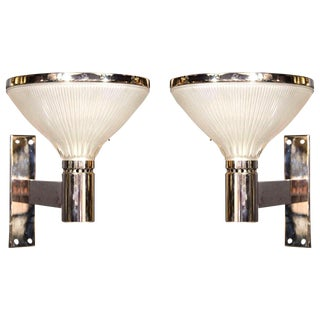 Pair of Italian Mid Century Wall Lights by Sergio Mazza for Artemide For Sale