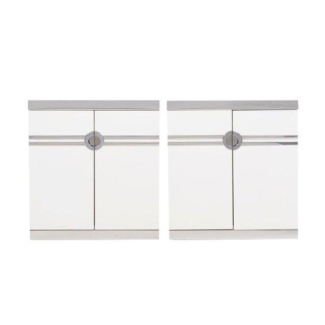 Pierre Cardin Pair of Nightstands For Sale