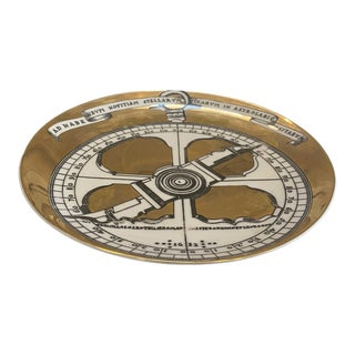 Piero Fornasetti Astrolabe Plate, Number Seven in Astrolabio Series For Sale