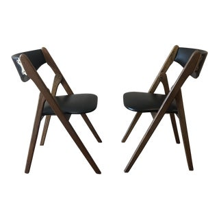1960's Norquist Coronet Wonderfold Chairs - a Pair