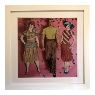 Paper Doll Series #1 Print by Michelle Workman For Sale