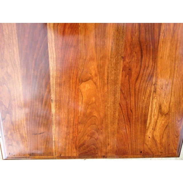 Amish Made Solid Cherry Side Table For Sale - Image 12 of 13