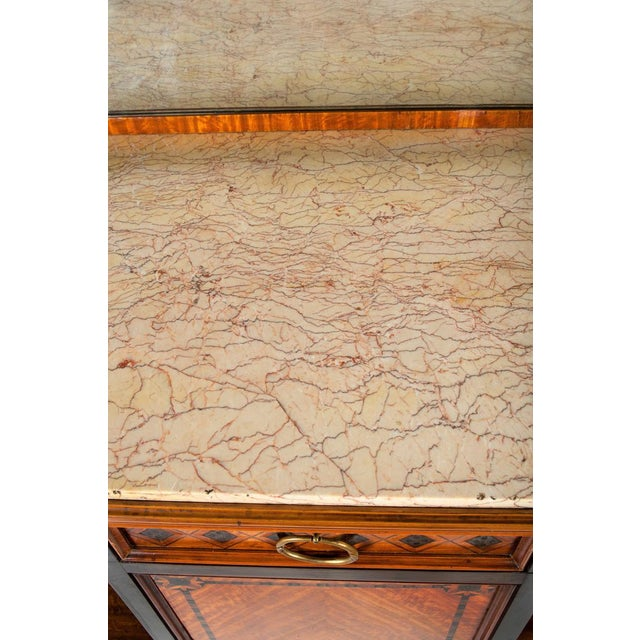 Late 18th Century Louis XV Marble-Top Server For Sale - Image 5 of 6