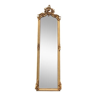 Rococo Inspired Mirror For Sale