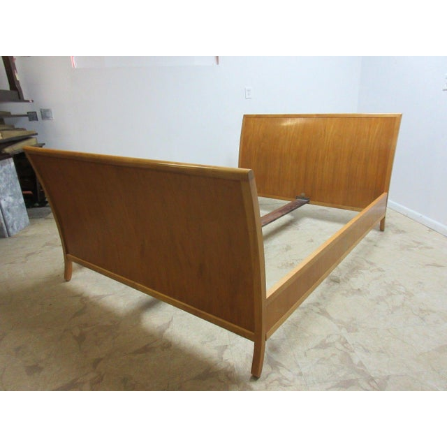 Mid-Century Modern Baker Charles Pfister Primavera Queen Size Headboard For Sale - Image 3 of 11