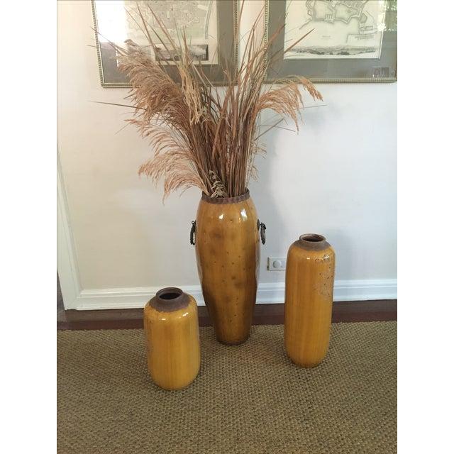 Massa Carrara Jars - Set of Three - Image 2 of 4