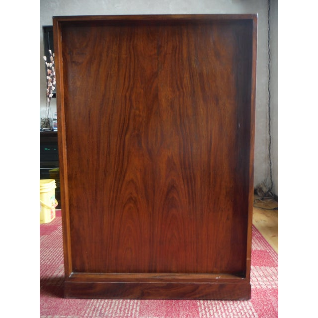 Indian Iron Wood CD/DVD Armoire - Image 7 of 10