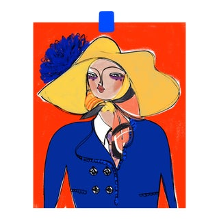 """Marc Jacobs Blues Spring 2020"" Limited Edition Print by Annie Naranian For Sale"