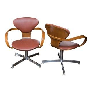 Norman Cherner Style Pretzel Chairs