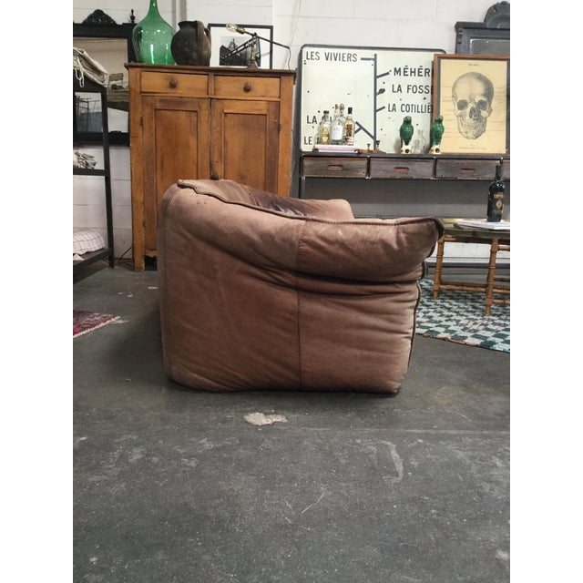 French 1960s Vintage Michel Ducaroy Sofa For Sale - Image 3 of 7