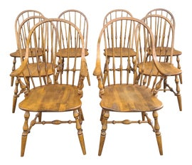 Image of Early American Dining Chairs