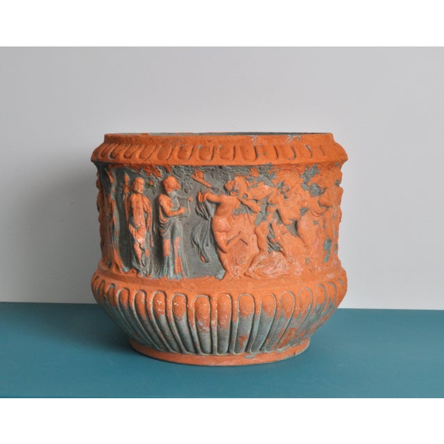High Relief Italian Terrecotta, Circa 1900 For Sale - Image 9 of 9