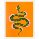 """Image of Small """"Marmalade the Snake"""" Print by Willa Heart, 16"""" X 20"""" For Sale"""