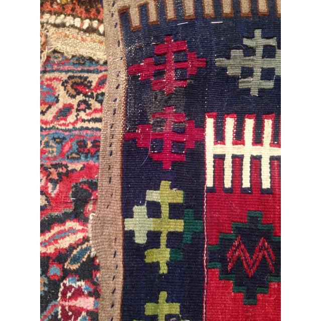 Vintage Turkish Prayer Kilim 4' X 6' - Image 6 of 8