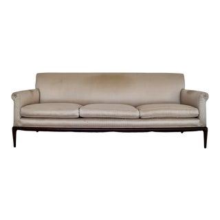 Vintage Hollywood Regency A. Rudin Sofa For Sale