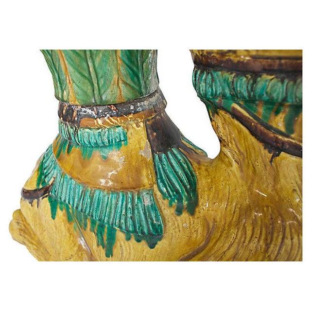 Terracotta Camel Planter For Sale - Image 10 of 13