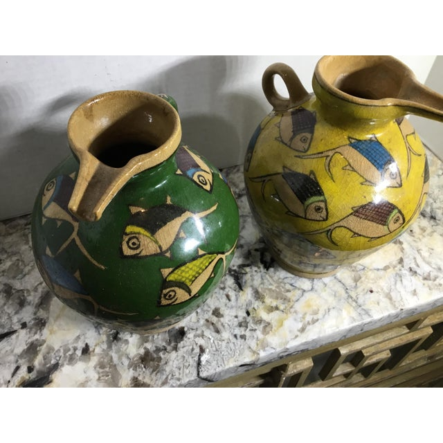 Vintage Persian Ceramic Vessels - A Pair - Image 9 of 11