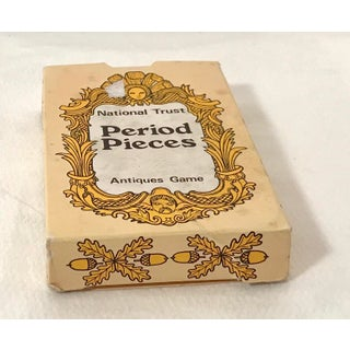 Vintage Mid-Century English Antiques Card Game Preview