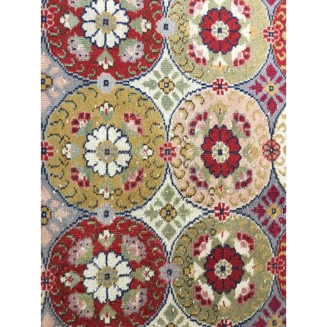 "Bellwether Rugs Vintage Turkish Zeki Muren Rug - 5'9""x9'4"" - Image 5 of 9"
